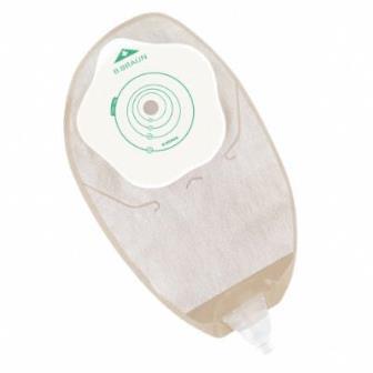 Уроприёмник однокомпонентный Flexima Uro Silk, дренируемый, прозрачный, фланец 10-55мм (1уп (30шт)) B.BRAUN Уроприёмник однокомпонентный, дренируемый 10-55мм (Flexima Uro Silk) (30шт)